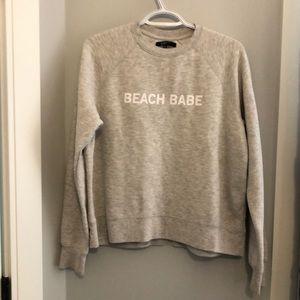 Brunette The Label Beach Babe Sweater SM
